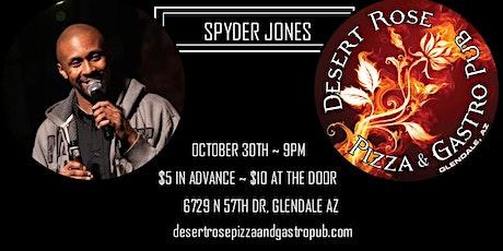 Spyder Jones, Kerri Gallagher, Karma Byrd Comedy at Desert Rose Steakhouse tickets