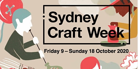 Sydney Craft Week Launch and Exhibition opening night tickets