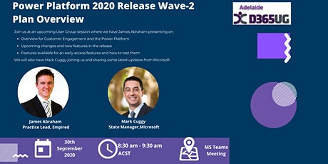 Power Platform 2020 Release Wave-2 Plan Overview tickets