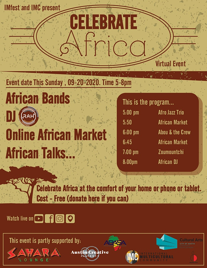 Celebrate Africa image