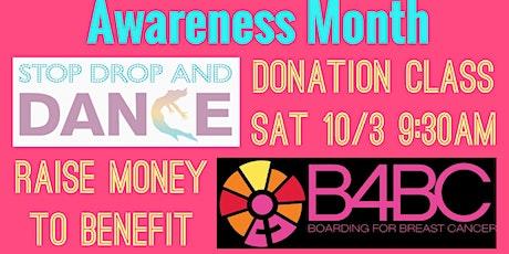 Sa 10/3  9:30am PST *DONATION CLASS* #StopDropAndDance tickets