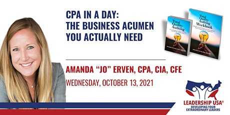 CPA in a Day: The Business Acumen You Actually Need tickets
