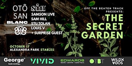 Off The Beaten Track - The Secret Garden tickets