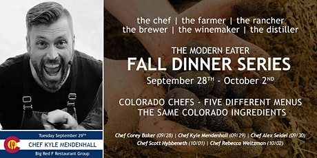 Fall Dinner Series - Chef Kyle Mendenhall - Night 2 tickets