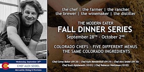 Fall Dinner Series - Chef Alex Seidel - Night 3 tickets