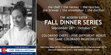 Fall Dinner Series - Chef Rebecca Weitzman - Night 5 tickets