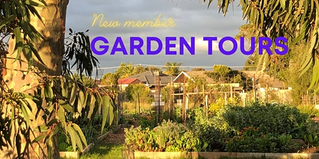 New Member Tours - tiny garden tours during roadmap step 3 tickets