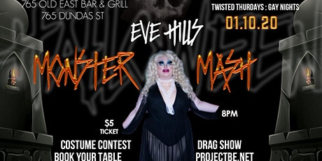 Twisted Thursdays: Gay Nights [Eve Hill's Monster Mash] tickets