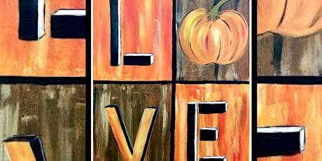 I Love Pumpkins! tickets