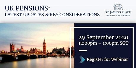UK Pensions: Latest Updates & Key Considerations tickets