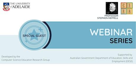 CSER - Webinar: Leadership in  School Digi Tech with Prof Stephen Heppell tickets