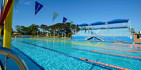 DRLC Olympic Pool Bookings - Sat 26 Sept - 3:45pm and 4.45pm tickets