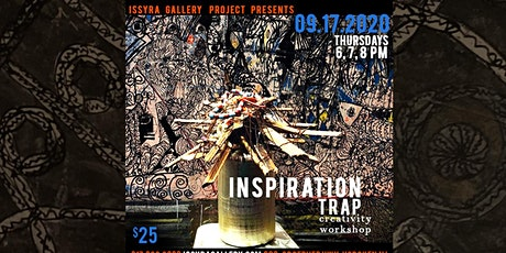 """Inspiration Trap"" - creativity workshop tickets"