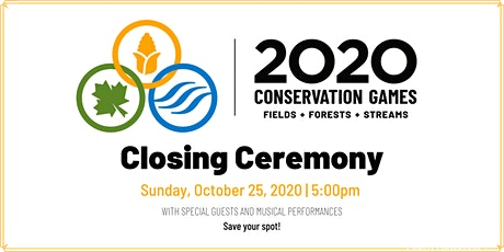 Closing Ceremony — 2020 Conservation Games tickets