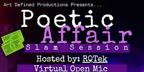 Poetic Affair Slam Poetry tickets