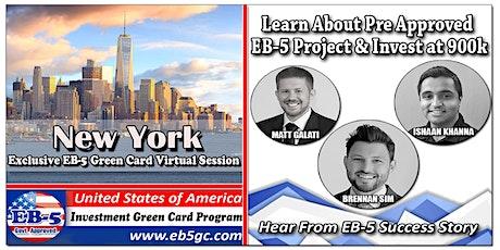 New York EB-5 American Green Card Virtual Market Series tickets