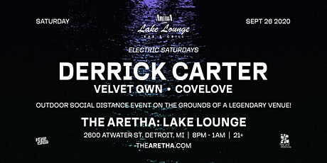 Lake Lounge at The Aretha with Derrick Carter tickets