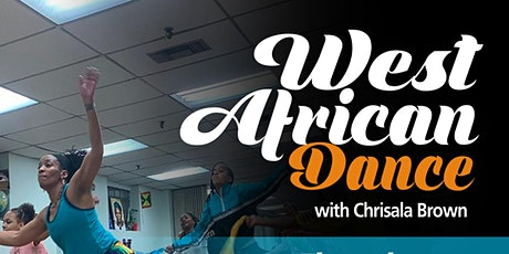 West African Dance with Chrisala Brown tickets