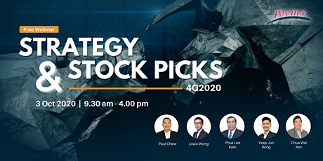 Strategy & Stock Picks 4Q2020 tickets