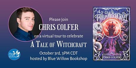 Blue Willow presents Chris Colfer to celebrate A TALE OF WITCHCRAFT…! tickets