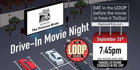 """Love The Loop"" Drive-In Movie: Princess Bride tickets"