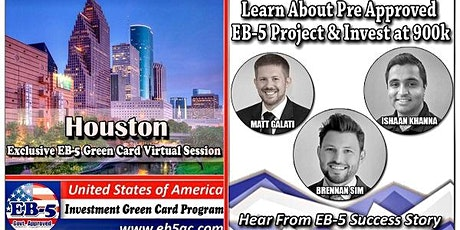 Houston EB-5 American Green Card Virtual Market Series tickets