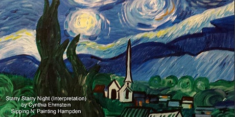 IN STUDIO CLASS Starry Night Wed Oct 21st 6:30pm $35 tickets
