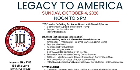 Legacy to America tickets