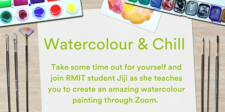 URBANEST CARLTON RESIDENTS ONLY: Watercolour & Chill via Zoom tickets
