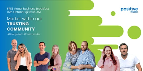 PositiveMedia's Virtual Business Breakfast - 15th October tickets