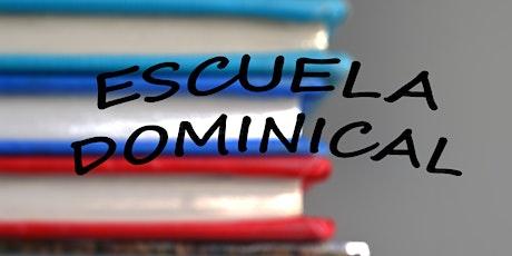 Escuela Dominical - Nueva Vida entradas