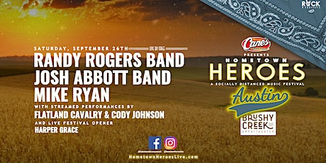 Randy Rogers Band, Josh Abbott Band, Mike Ryan LIVE Starting at $42/Person tickets