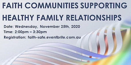 Faith Communities Promoting Healthy Relationships tickets