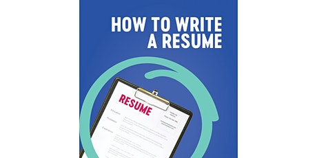 Online Zoom workshop: How to write a resume tickets