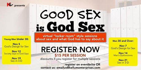 Good Sex is GOD SEX (for ages 31and older) tickets