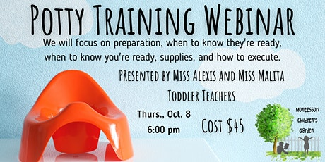 Potty Training 101 Webinar tickets