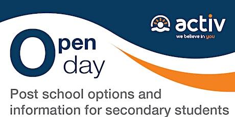 Activ Open Day (Post school options) tickets