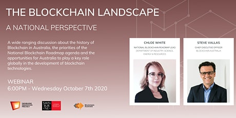 Masterclass: The Blockchain Landscape - A National Perspective tickets