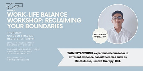 Free Event - Work-Life Balance: Reclaiming your boundaries tickets