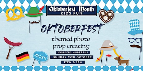 Oktoberfest Kids Club - Photo Prop Craft tickets