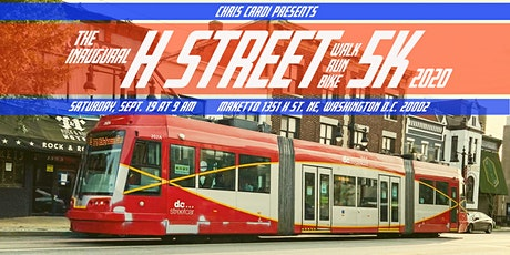 H STREET 5K WALK, RUN, & RIDE tickets