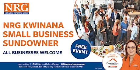 NRG Kwinana Small Business Sundowner tickets