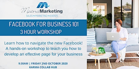 Facebook for Business 101 tickets