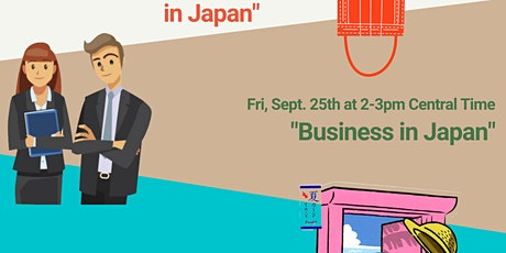 """""""Business in Japan"""" tickets"""