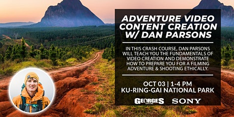Adventure Video Content Creation with Daniel Parsons tickets