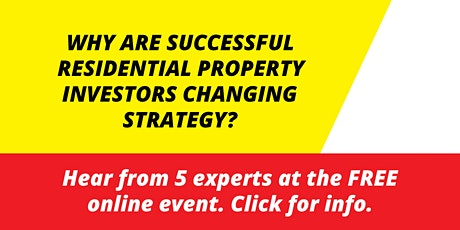 Transitioning into Commercial Property Masterclass tickets