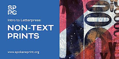 Intro to Letterpress: Non-text Prints tickets