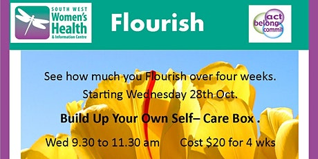 Flourish- Build Up Your own Self-Care Box tickets
