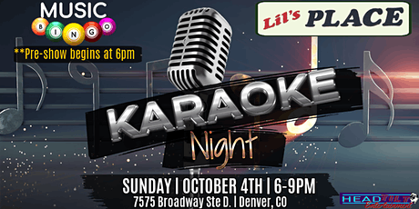 Music Bingo Pre-show and Karaoke Night at Lil's Place!! tickets
