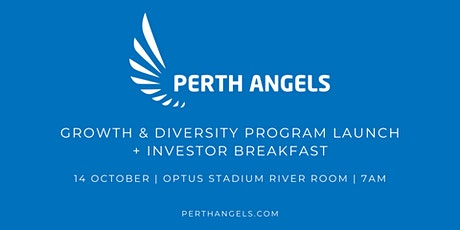 Growth & Diversity Program Launch + Annual Investor Breakfast tickets